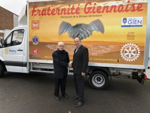 2018 01 inauguration camion Fraternité Giennoise