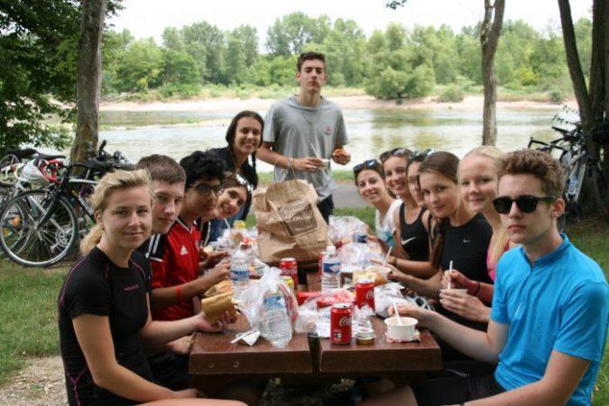camp d'été « La Loire à vélo » de Briare à Chinon