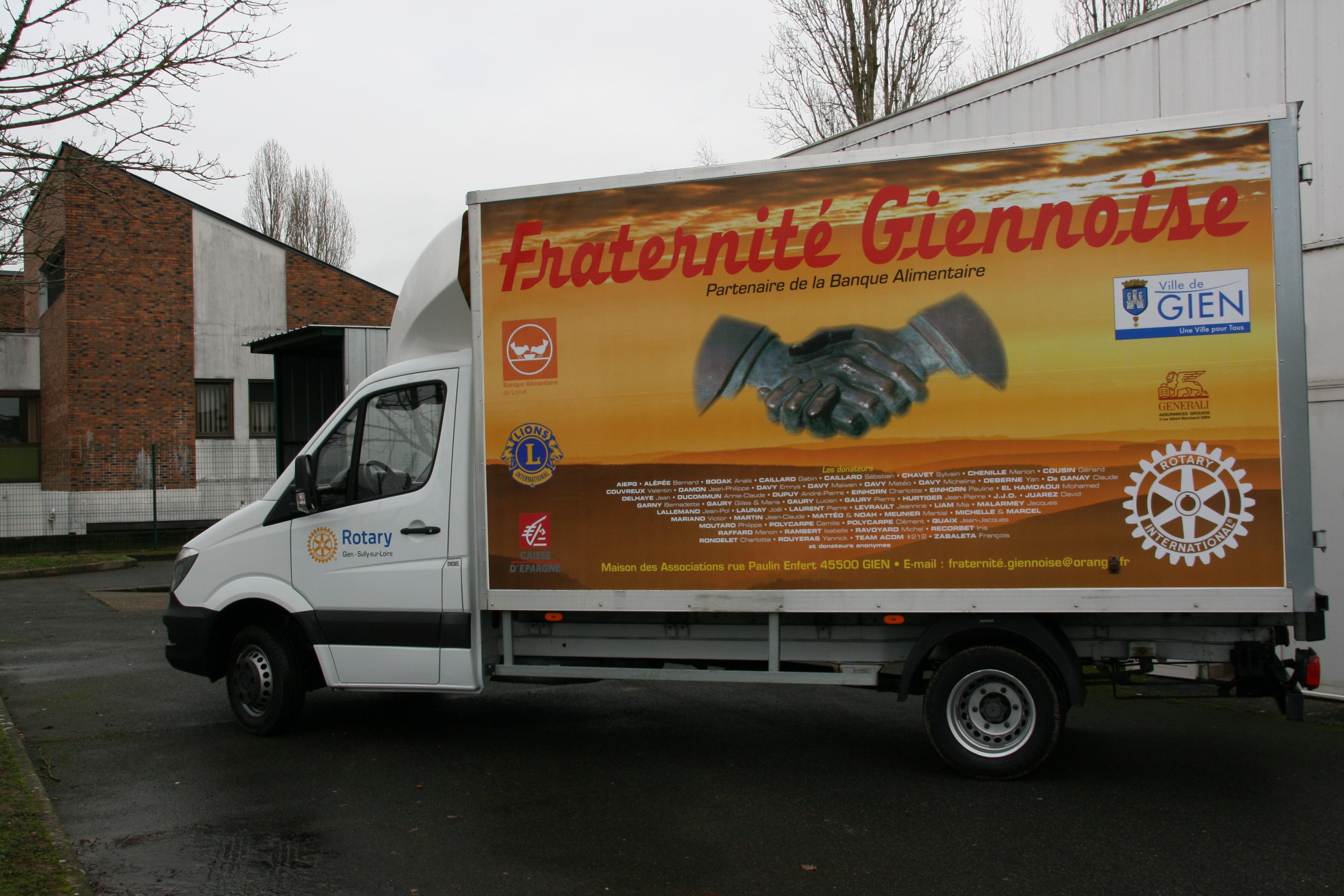 Camion Fraternité Giennoise 01 2018