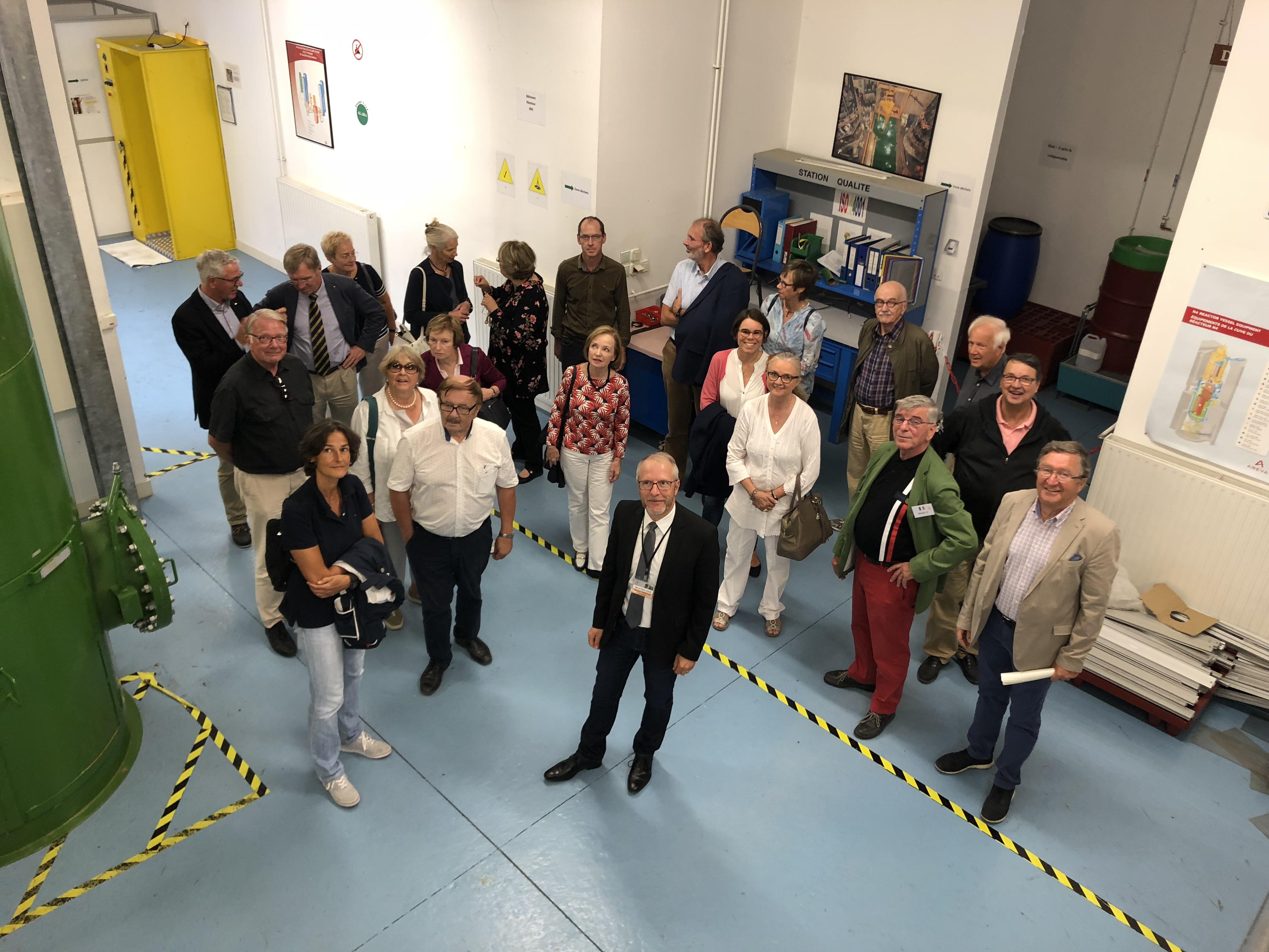 2018 09 visite lycée Marguerite Audoux