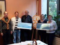 2019 Don à AIEPG (Association Interculturelle et de Partage du Giennois) et l'association les Cigognes de Gien