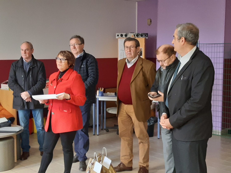 2020 03 06 Remise de chèques au Lycée Saint-François