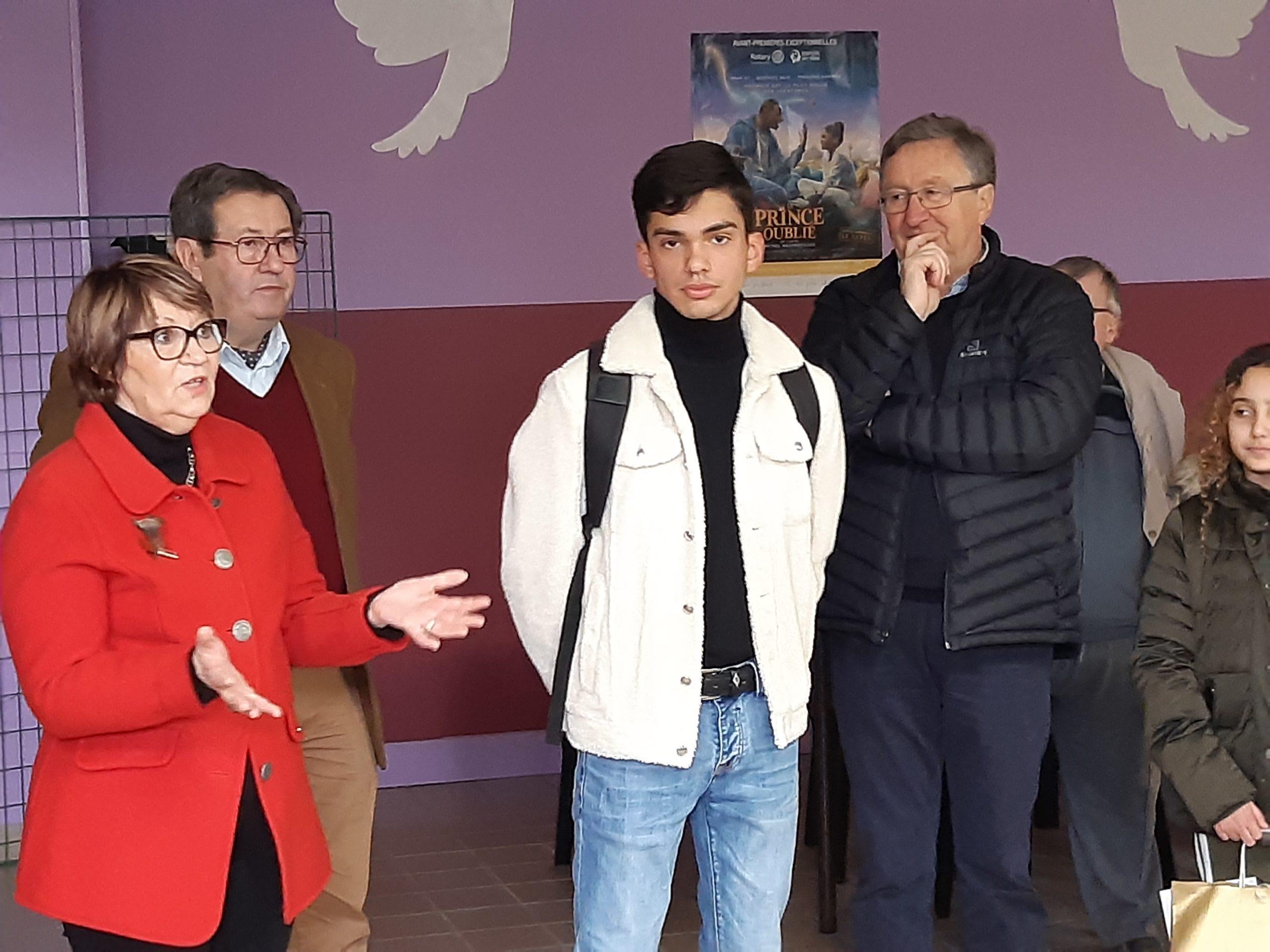 2020 03 06 Nouveau Président du Rota-Act au Lycée Saint-François